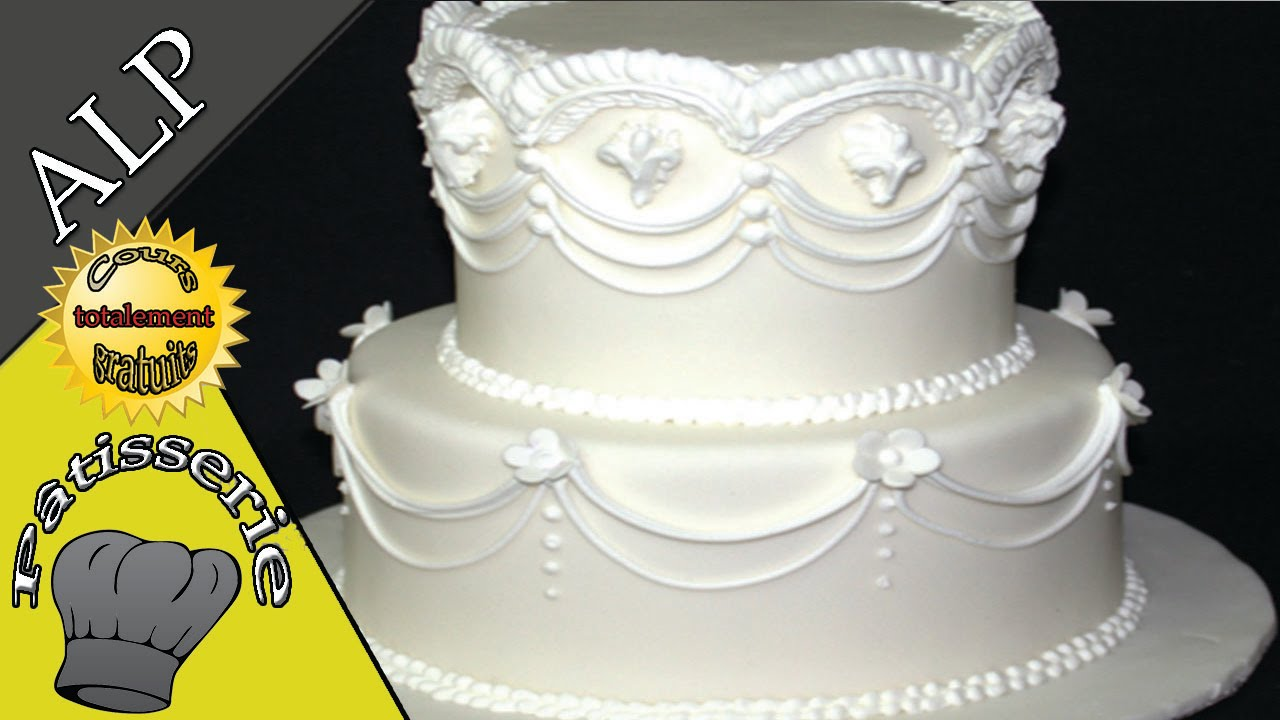 Recette Wedding Cake Simple