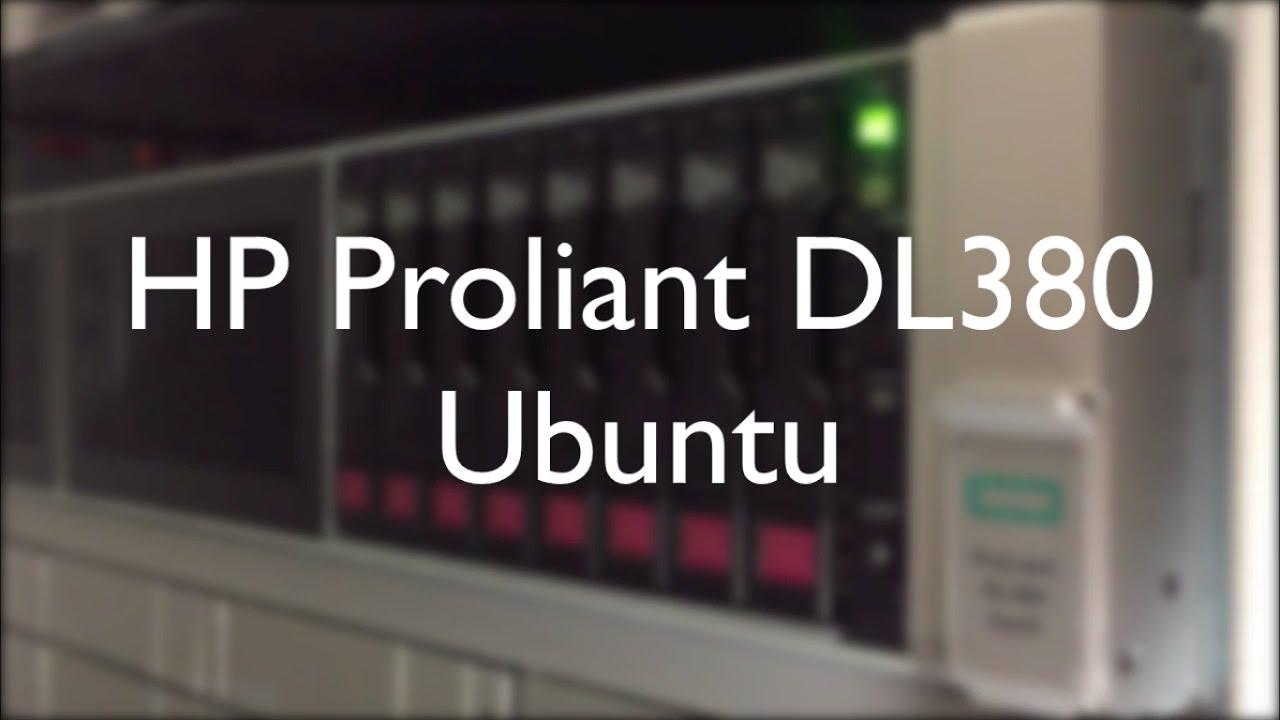 hp proliant dl380 g7 display drivers