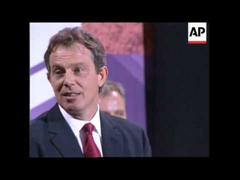 UK: TONY BLAIR IS ELECTED NEW PRIME MINISTER FOLLOWING LABOUR WIN