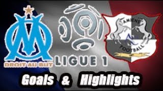 Olympique de Marselhe vs Amiens - Goals & Highlights - Ligue 1