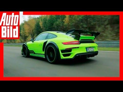 AUTO BILD Mitfahrt: Porsche Techart GT Street R / 2016 / Sachsenring-Runde im Techart / Review