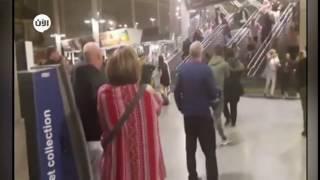لحظات من الرعب والهلع عند حدوث التفجير الإرهابي في #مانشستر