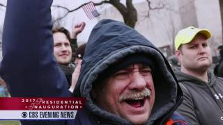 [WCBS] CBS Evening News - 2017 Presidential Inauguration