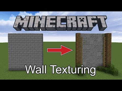 How To Add Texture To Stone In Minecraft