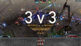 Dawn of War 2 - 3v3 | panzerbatallion + oLev + Son of Malice [vs] Porn + yz + Kain