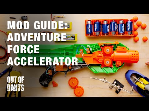 MOD GUIDE: Adventure Force Accelerator (Rival style blaster)