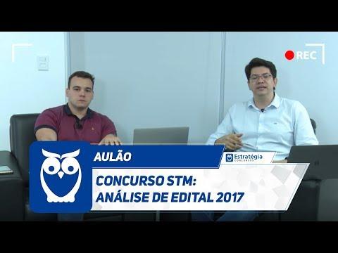 Concurso STM: Análise de Edital 2017