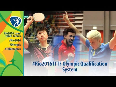 How Table Tennis Players Qualified for Rio 2016