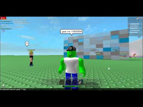 roblox how to find games that allow gear
