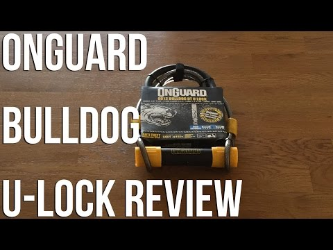 OnGuard Bulldog DT U-lock Review: A great budget bike lock