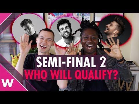 Eurovision 2019: Semi-Final 2 qualifiers prediction
