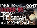 "Deals Under $5 From the ""Steam Summer Sale 2017"""