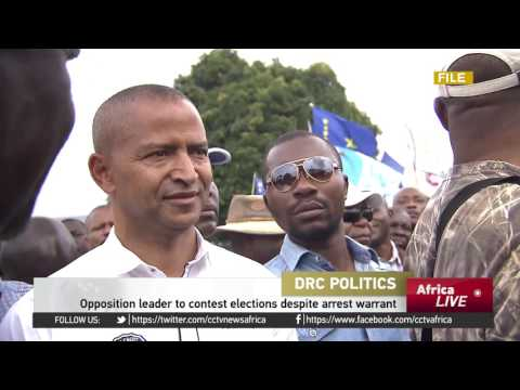DR Congo opposition leader to contest elections despite arrest warrant
