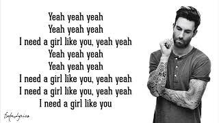 Maroon 5   Girls Like You Lyrics ft  Cardi B