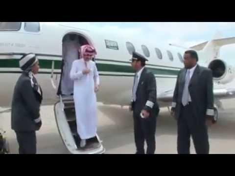 First Lady Pilot with Prince Alwaleed Bin Talal