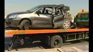 الانحراف المفاجئ يسبب حوادث جسيمة - Sudden lane changes can cause serious accidents