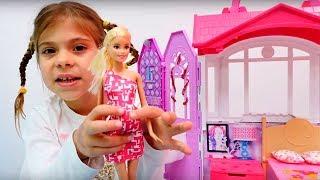 Мультики для девочек с куклами. Барби - мама