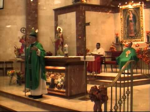 The Catholic Mass from the Church of Our Lady of Guadalupe on 9-23-12