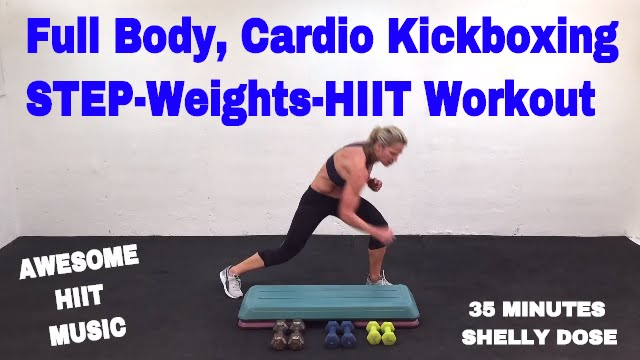 Cardio Kickboxing Workout Hiit Workout Step Workout With