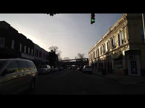 Driving from Garden City to Floral Park in Nassau,New York