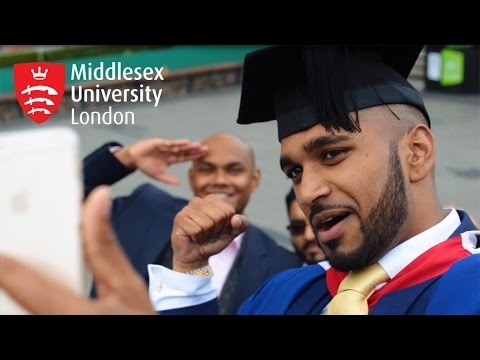 Middlesex University Graduation 2016