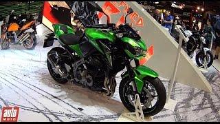 2017 Kawasaki Z900 et Z1000 R [SALON DE MILAN] : Invasion de Z (prix, moteurs, performances)