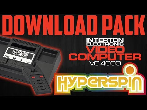 Hyperspin Pack INTERTON VC4000 an Exclusive from GhostLost - Arcade
