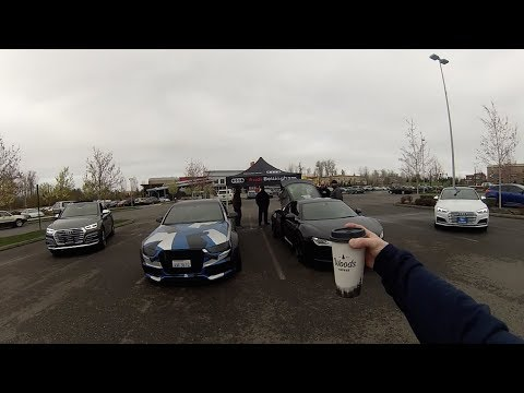 SUPERCHARGED AUDI R8 at Roger Jobs Cars & Coffee Week 2