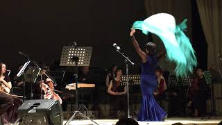 Cassado - Suite cello#1. Evgeniya Boginskaya (cello), Olga Pshenitsyna (dance)
