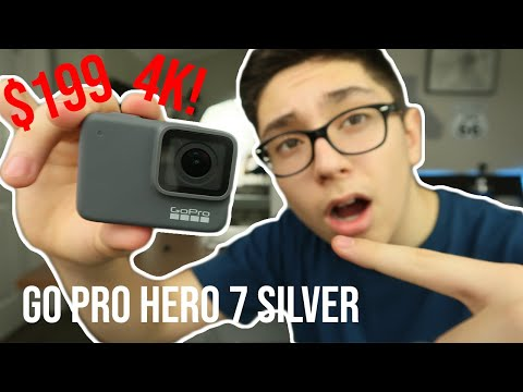 GoPro Hero 7 Silver Unboxing + Setup + Review | Best Budget 4K Camera!