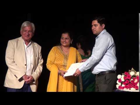 Indore artists receiving awards - 29