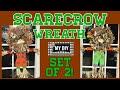Scarecrow Wreath Set | Dollar Tree DIY | SO CUTE!!