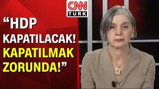 """Gülümser Heper: """"Koskoca Kürt halkının temsilcisi Pervin Buldan ile Selahattin Demirtaş mıdır!"""""""