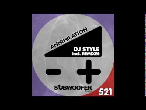"DJ Style ""Annihilation"" EP on Subwoofer Records"