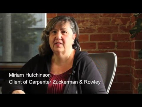 Carpenter Zuckerman & Rowley's Client Testimonial on Personal Injury Case