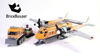 lego city 60064 arctic supply plane lego speed build