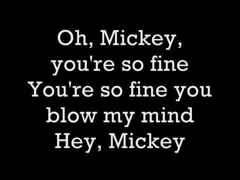 Toni Basil-Hey Mickey w Lyrics