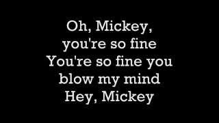 Toni Basil-Hey Mickey Lyrics [Lollipop Chainsaw sparkle hunting Song]
