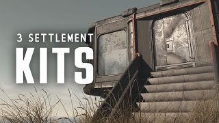 3 Settlement Kits Brand New Tile Sets - Oxhorn s Mod Muster - Fallout 4 PC Mods