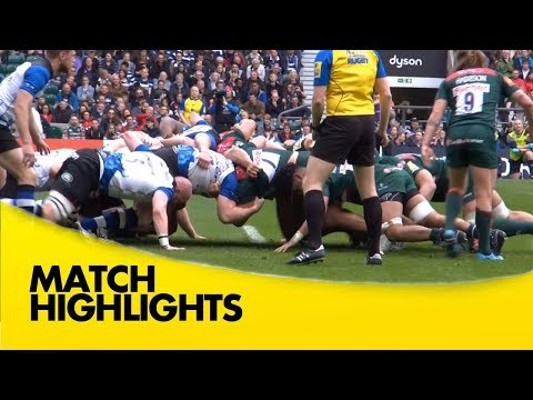 Bath Rugby v Leicester Tigers - Aviva Premiership Rugby 2017-18