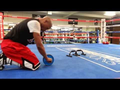 Floyd Mayweather Ab Workout