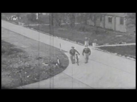 World War Two Archive Film, Misty Weather at Podington Air Base 92nd Bomb Group.
