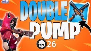 *DOUBLE PUMP* IN SEASON 5! 26 KILLS SOLO !CREATIVE DESTRUCTION!