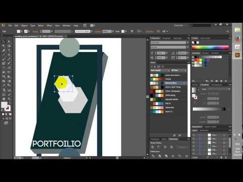 สอนทำ Portfolio ด้วย Illustrator [workshop2]