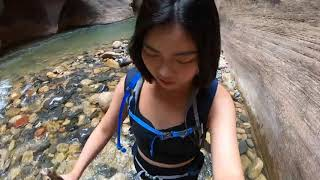 2019 Zion National Park - The narrows|CIEE Taiwan
