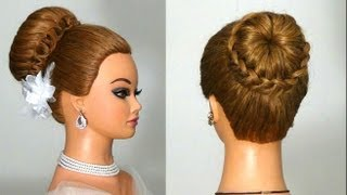 . Hairstyle for long hair
