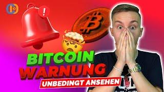 WARNUNG! Bitcoin bricht den SUPPORT!! | Bitcoin & Ethereum Analyse