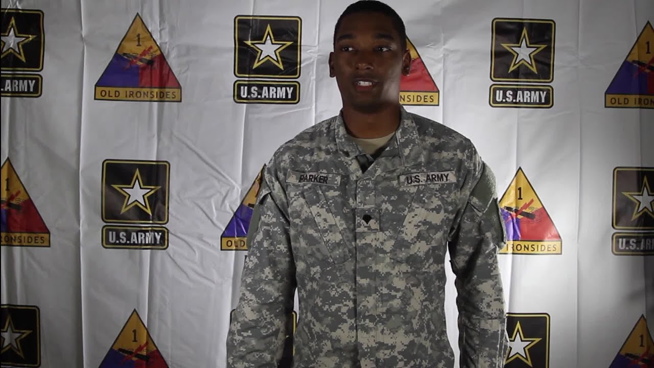 Military Greeting Spc Parker Holiday Greeting Chesapeake Youtube