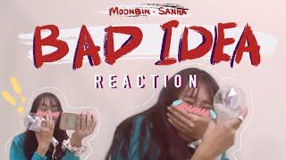 BAD IDEA | Moonbin & Sanha (아스트로 문빈&산하) IN-OUT MV REACTION | I CAN'T FUNCTION