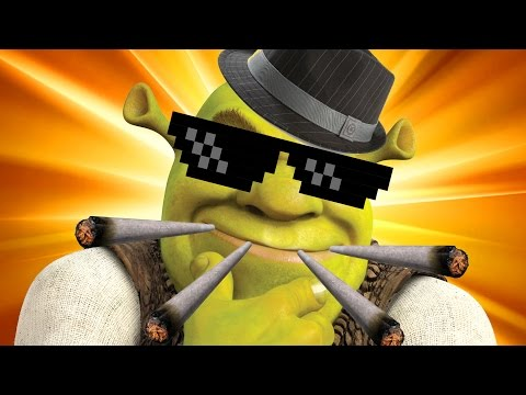 GET SHREKT DUBSTEP REMIX | GAME OF THE YEAR 420BLAZEIT